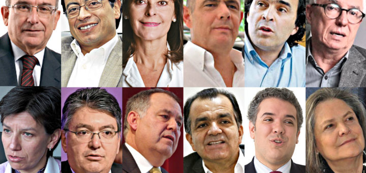 presidenciables 2018 Colombia