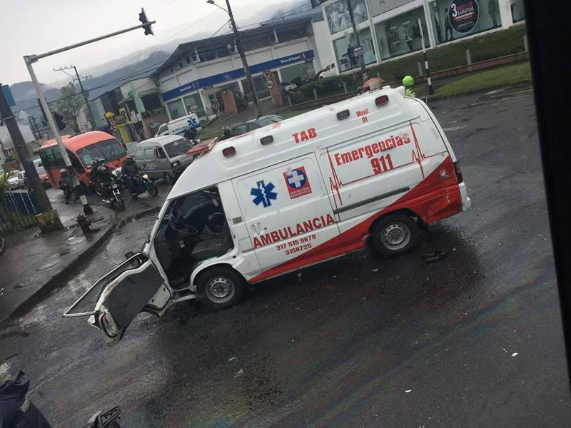 ambulacia accidente