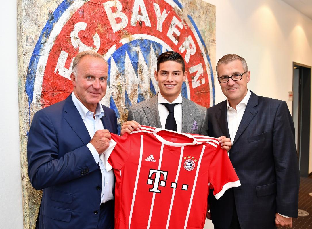 James Rodriguez fue presentado oficialmente como jugados del Bayern Múnich  (12)
