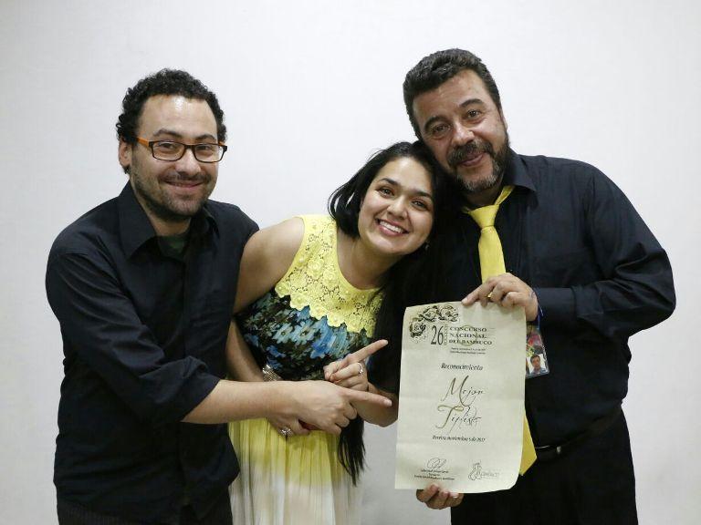 Mejor tiplista Oscar O. Santafé-Acompañante de Lizeth V. Cundinamarca