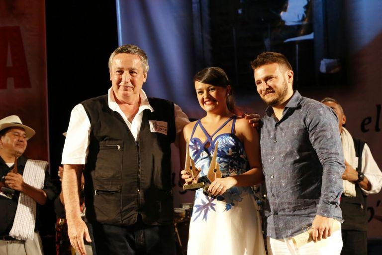 Monica Adela Escobar- Ganadora Gran Premio Luis Carlos González
