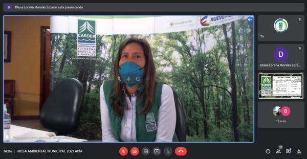 Liderada por la CARDER, inició la agenda de las Mesas Ambientales Municipales 2021 - Noticias de Colombia